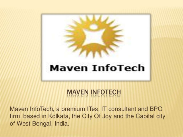 MAVEN INFOTECH PVT. LTD Job Openings